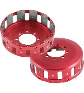 BARNETT CLUTCH BASKET DUCATI ALUMINUM RED 321-25-01812