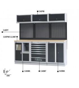 Bancada de trabalho, a combinar com mobiliário para oficin