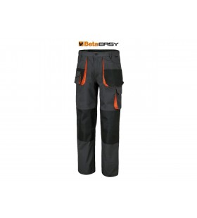 BETA Multipocket Work Trousers in T/C canvas 260g/m² Oxfor