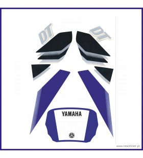 AUTOCOLANTE YAMAHA DT 50LC '2003 -AZUL