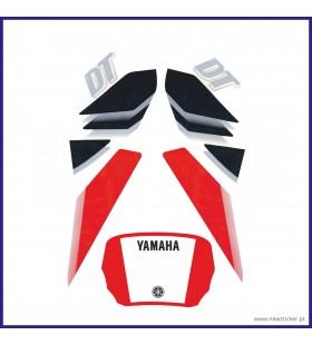 AUTOCOLANTE YAMAHA DT 50LC '2003 -VERMELHO