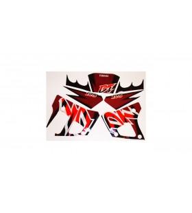 kit AUTOCOLANTE YAM DT125R BORDEAUX (J) YAMAHA DT 125R / DTR
