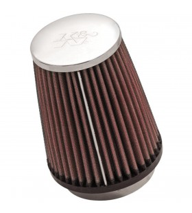 K&N sport air filter REPLACEMENT CLMP ON 73MM RC-2600