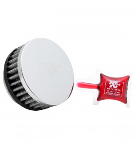 K&N sport air filter REPLACEMENT CLMP ON 57MM RC-2880
