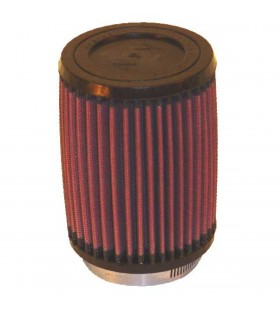 K&N sport air filter REPLACEMENT CLMP ON 73MM RU-2410