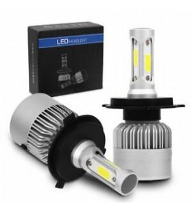 LAMPADAS LED H4 6000K 2 UNIDADES