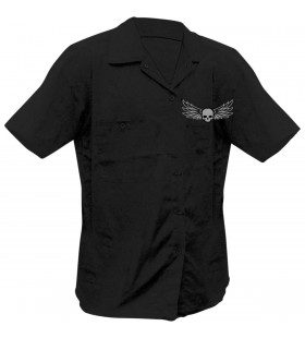 SHIRT RIDE LOW BLK MD 30403020