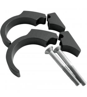 MOTOGADGET HANDLEBAR CLIP KIT 22 MM BLACK FOR MOTOSCOPE/MOT