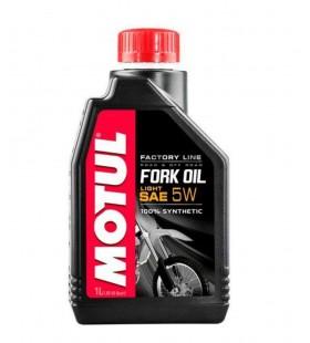 OLEO MOTUL FORK OIL FACTORY LINE 5W 1 LITRO