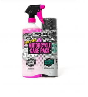 Kit duplo cuidado moto (Motorcycle Protectant + Cleaner) Muc