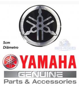 AUTOCOLANTE DO DEPOSITO YAMAHA 5CM. LOGOTIPO PARA R1 R6 MT X