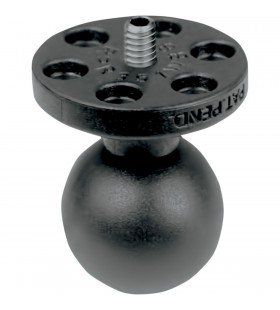 """RAM MOUNT 1"""" BALL CONNECT 1/4""""-20 FOR CAMERA / VID"""