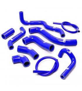 Kit tubos radiador Samco Aprilia RSV 1000 1998 - 2003 azul