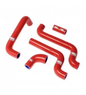 Kit tubos radiador Samco  APRILIA RS 125 05 - 12 VERMELHO