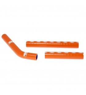 Kit tubes radiator Samco Ktm 125 SX / 144 SX LARANJA