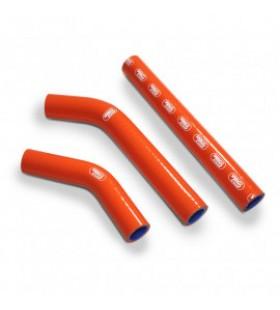 Kit tubes radiator Samco Ktm 250 SX 07 - 10 ORANJE