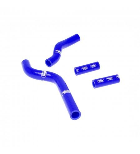 Kit tube radiator Samco Yamaha YZ 250 2002-2021 blue