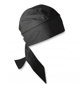 ZAN HEADGEAR  HEADWRAP FLYDANNA® DELUXE BLACK ONE SIZE 2504