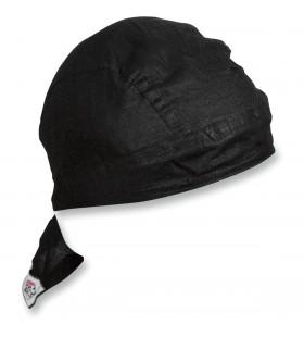 ZAN HEADGEAR  HEADWRAP FLYDANNA® BLACK ONE SIZE Z114
