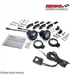 Kit de faróis de nevoeiro LED Koso Aurora