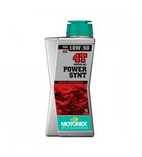MOTOREX OIL 4T POWER SYNT 10W/50 1L - MOT126