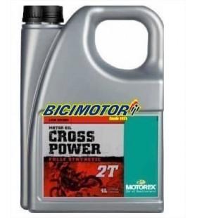 MOTOREX OIL 2T CROSS POWER 4L - MOT133