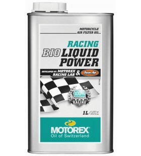 AIR FILTER OIL MOTOREX BIO RACING 1L - MOT142