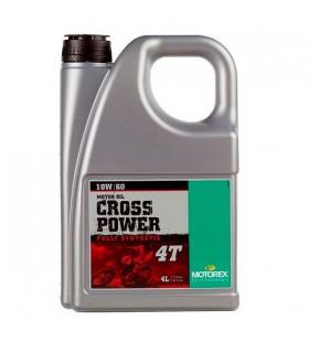 MOTOREX OIL 4T CROSS POWER 10W/60 4L - MOT157