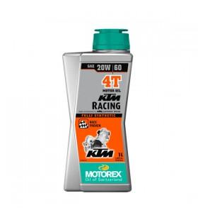 MOTOREX OIL 4T KTM RACING 20W/60 1L - MOT161