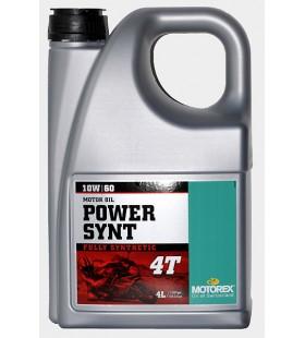 MOTOREX OIL 4T POWER SYNT 10W/60 4L - MOT185