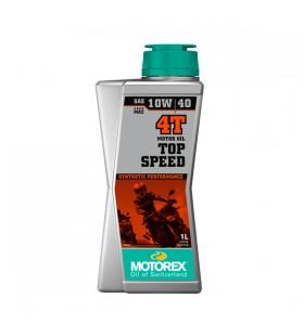 MOTOREX OIL 4T TOP SPEED 10W/40 1L - MOT19