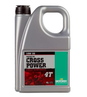 MOTOREX OIL 4T CROSS POWER 10W/50 4L - MOT194
