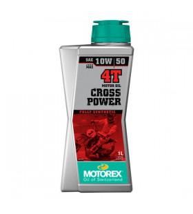 MOTOREX OIL 4T CROSS POWER 10W/50 1L - MOT198