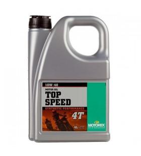 MOTOREX OIL 4T TOP SPEED 10W/40 4L - MOT222