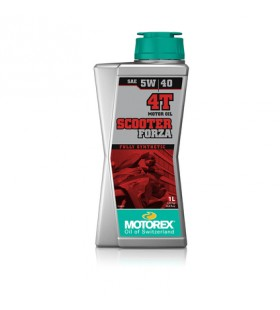 MOTOREX OIL 4T SCOOTER FORZA 5W/40 1L - MOT227