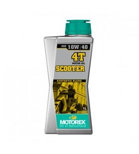 MOTOREX OIL 4T SCOOTER 10W/40 1L - MOT232