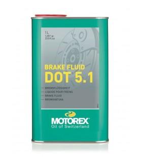 BRAKE FLUID MOTOREX DOT5.1 1L  - MOT319