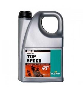 MOTOREX OIL 4T TOP SPEED 15W/50 4L - MOT362