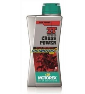MOTOREX OIL 2T CROSS POWER 1L - MOT83