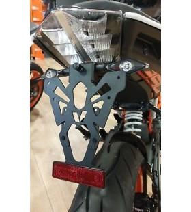 SUPORTE MATRICULA KTM 125/200/390 DUKE  -C8-SPM002